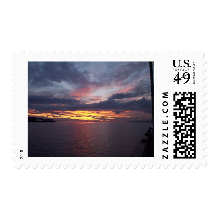 Drayton Harbor Sunset Stamp