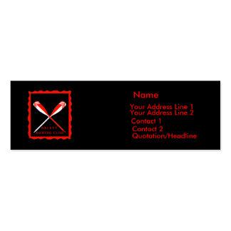 DRC Logo Customizable Profile Card Business Cards