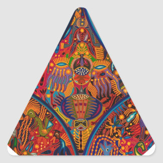 DRCHOS INDIAN  ART01 PRODUCTS TRIANGLE STICKER