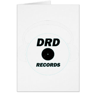 DRD RECORDS LOGO 1 CARD
