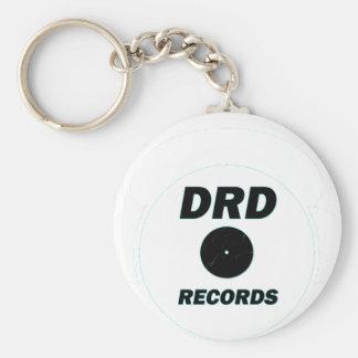 DRD RECORDS LOGO 1 KEYCHAIN