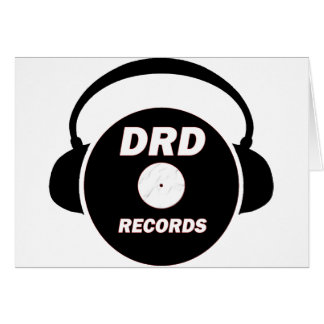 DRD RECORDS LOGO 2 CARD