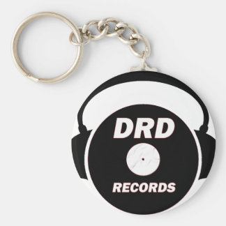 DRD RECORDS LOGO 2 KEYCHAIN