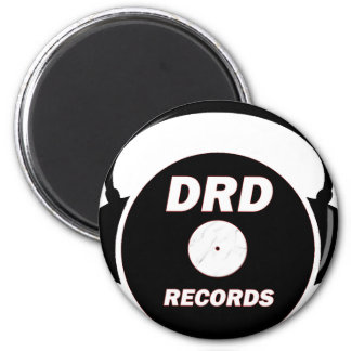 DRD RECORDS LOGO 2 MAGNET