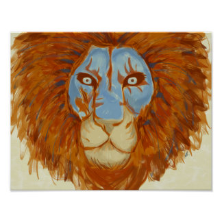Dre Lion Poster