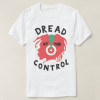 Dread At The Control Reggae Dub Rasta DJ T-Shirt