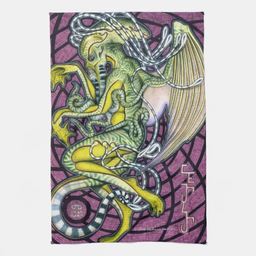 Dread Cthulhu Kitchen Towels Style 1