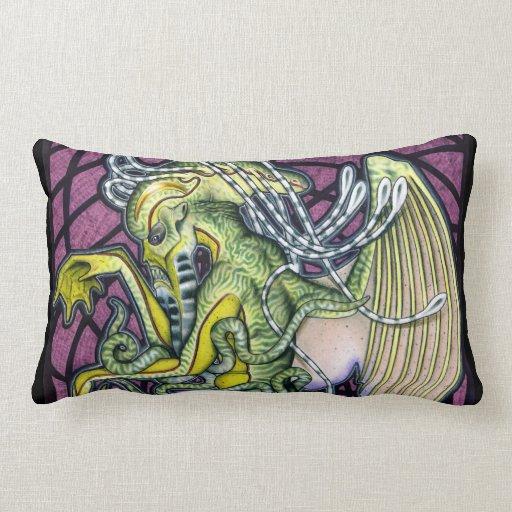 Dread Cthulhu Lumbar Pillow