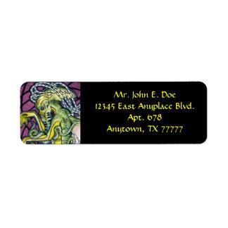 Dread Cthulhu Return Address Label