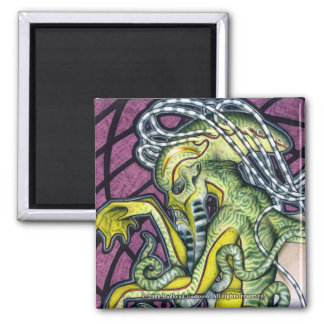 Dread Cthulhu Square Magnet
