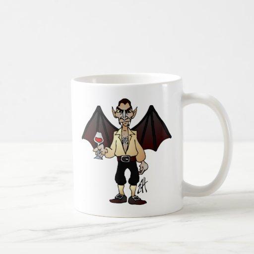 Dreaded Dracula Classic White Coffee Mug