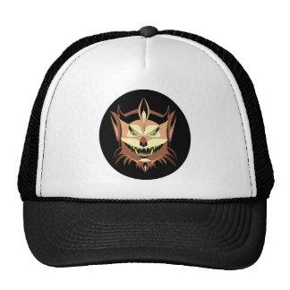 Dreaded Werewolf-Trucker Hat/Black & White