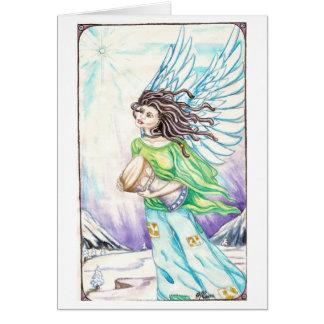 Dreadie Angel #1 Greeting Card