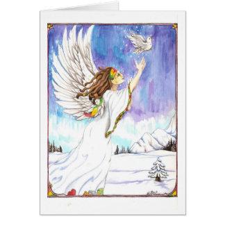 Dreadie Angel #2 Greeting Card