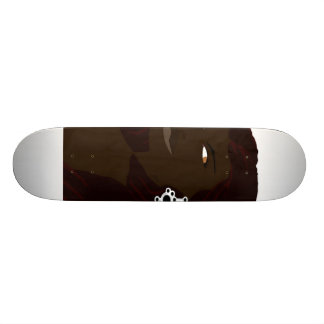 Dreadlock Headshot 2(Sketchbook Pro) Skateboard Deck