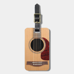 Dreadnought Acoustic six string Guitar Bag Tag