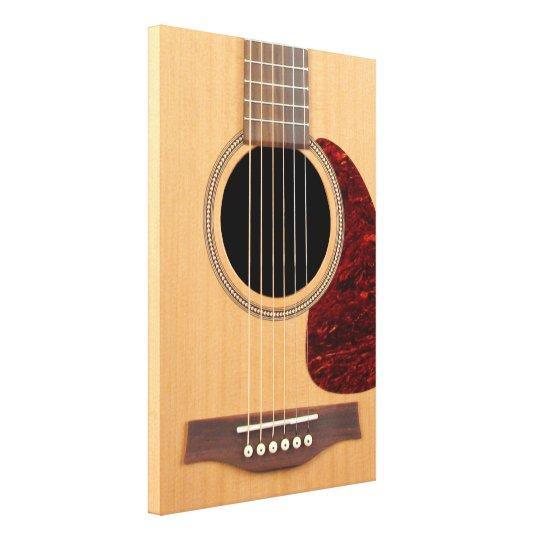 Dreadnought Acoustic six string Guitar Canvas Print
