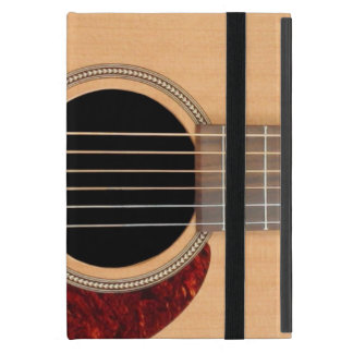 Dreadnought Acoustic six string Guitar Case For iPad Mini
