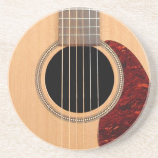 Dreadnought Acoustic six string Guitar Drink Coaster