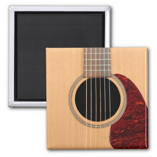 Dreadnought Acoustic six string Guitar Magnet