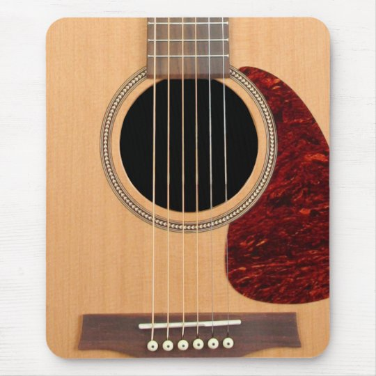 Dreadnought Acoustic six string Guitar Mouse Pad