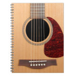 Dreadnought Acoustic six string Guitar Notebook