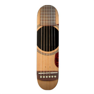 Dreadnought Acoustic six string Guitar Skateboard Deck