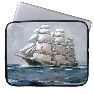 Dreadnought Sailing Clipper Laptop Computer Sleeve