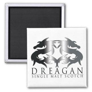 Dreagan 2 Inch Square Magnet