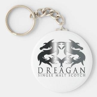 Dreagan Basic Round Button Keychain