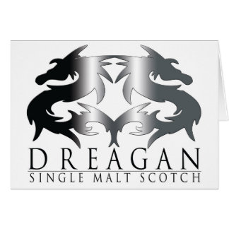 Dreagan Greeting Card