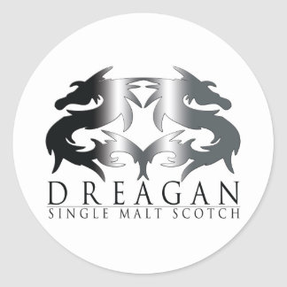 Dreagan Classic Round Sticker