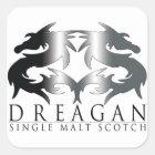 Dreagan Square Sticker