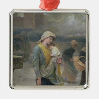 Dream, 1897 metal ornament