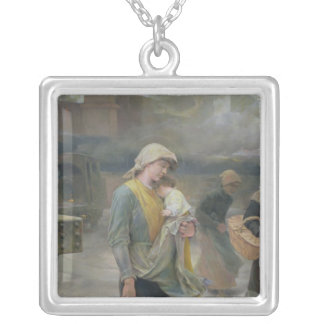 Dream, 1897 silver plated necklace