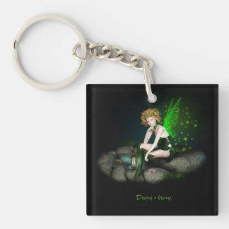 Dream a dream acrylic key chain