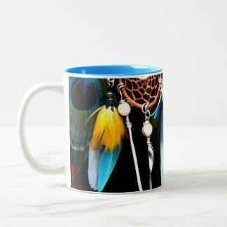 Dream A Little Dream Of Me. Two-Tone Coffee Mug
