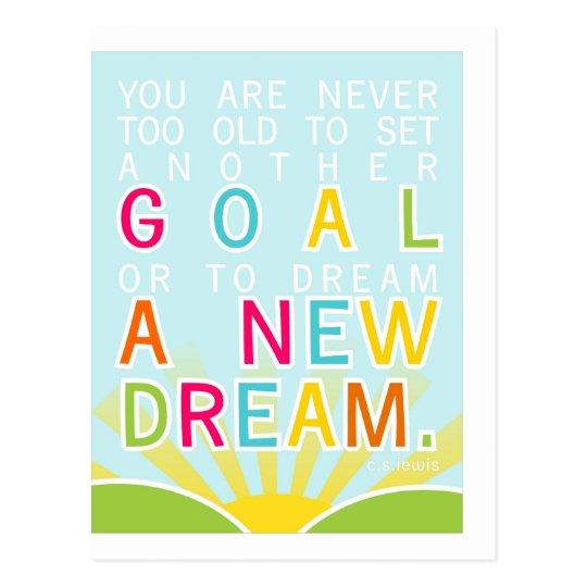 Dream A New Dream Postcard