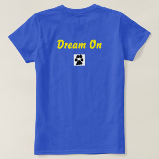 DREAM about agility in a different font T-shirt