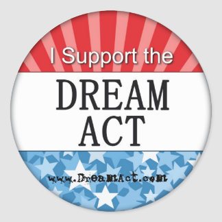 DREAM Act Stickers