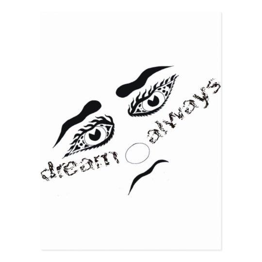 Dream always postcard