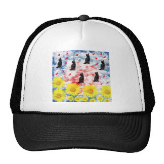 Dream and thousand feather beginning te trucker hat