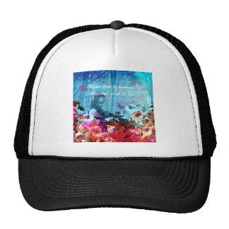 Dream and wait among corals trucker hat