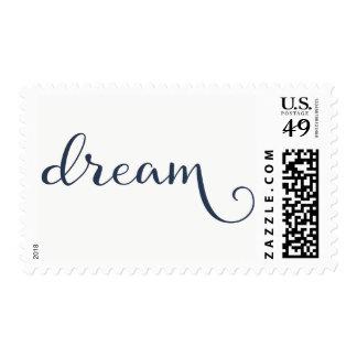 Dream Attitude Motivational Goals Quote Postage