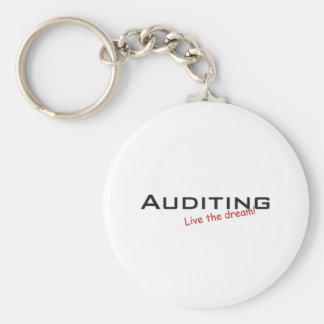 Dream / Auditing Basic Round Button Keychain