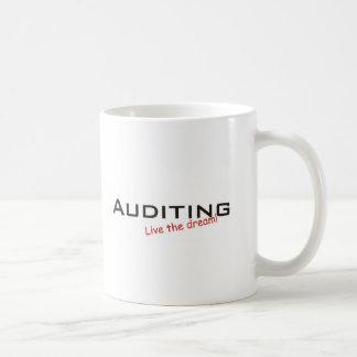 Dream / Auditing Classic White Coffee Mug