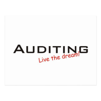 Dream / Auditing Postcard