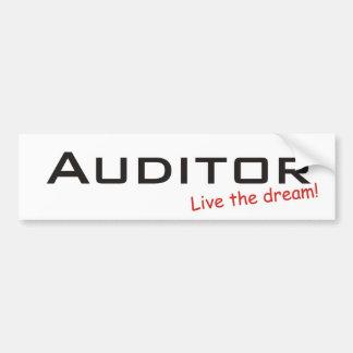 Dream / Auditor Bumper Sticker