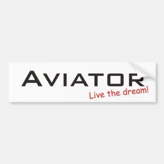 Dream / Aviator Bumper Sticker