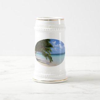 Dream beach beer stein